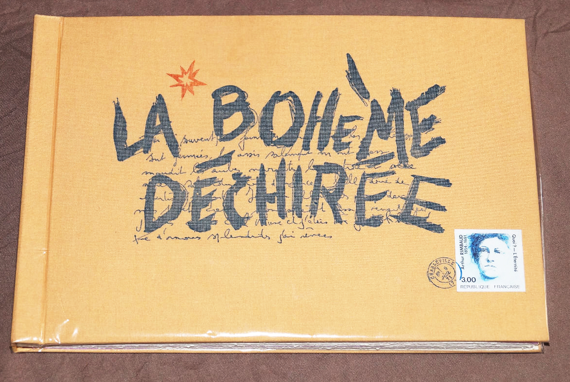 La bohème déchirée de Rimbaud / Patrice Saunier et Christophe Domenge | Saunier, Patrice ((1950-...))